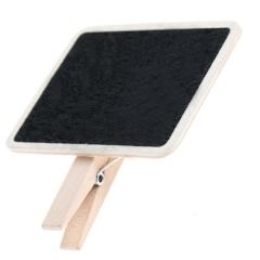 小黑板木夹子