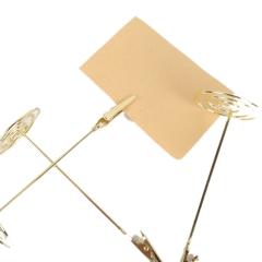 意金属电镀金名片夹