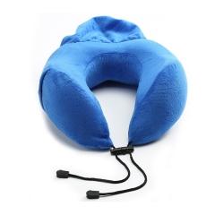 可收纳记忆棉颈枕户外便携旅行枕舒缓脖子颈枕