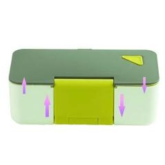 日式塑料学生保温饭盒成人单层便当盒可微波炉加热餐盒手机餐盒