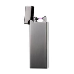 USB充电打火机超薄防风电弧打火机 金属广告打火机