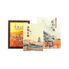 《一带一路》高档邮票册页 丝绸之路邮票册页 丝绸邮票册logo定制