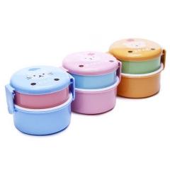定制儿童礼品 儿童可爱便当盒 饭盒 水果盒