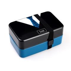定制饭盒 可爱双层便当盒 寿司盒