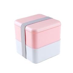 日式双层便当盒