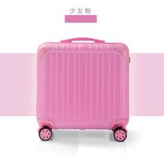 18寸磨砂镜面材质可选迷你行李箱密码箱登机箱拉杆箱航空旅行箱