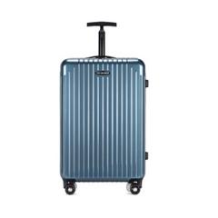 时尚防刮痕单杆万向轮时尚行李箱男款女款大容量登机箱  24寸