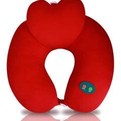 USB颈椎爱心呵护枕健康枕 保健枕 可定制logo