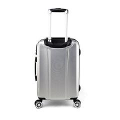 外交官拉杆箱DS-1293B银色/黑色20寸旅行箱
