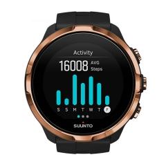 颂拓(SUUNTO)斯巴达极速 松拓光电心率彩屏智能触控手表