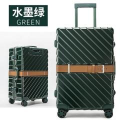 带铝框拉杆箱包万向轮行李箱