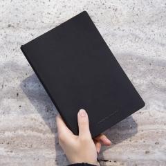 软皮高级简约个性创意记事本