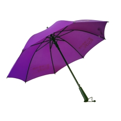 双骨加固长柄广告伞 房地产银行酒店大堂雨伞定制 印刷文字logo