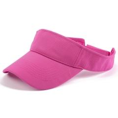 夏季防晒帽无顶棒球帽广告帽可定制LOGO