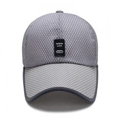 防晒男士中老年帽檐加长款可定制LOGO