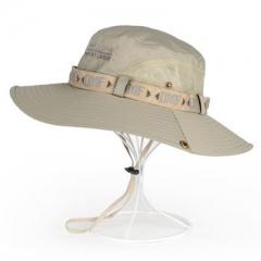 渔夫帽夏季遮脸防晒帽太阳帽