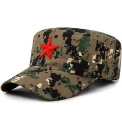 迷彩服帽学生企业团队军训帽可定制logo