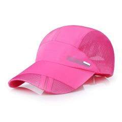 户外骑行帽速干帽运动网帽可定制LOGO