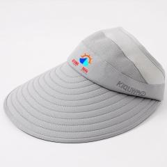 防晒空顶户外帽子可定制LOGO