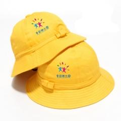 儿童渔夫帽幼儿园小朋友野餐团体帽可定制LOGO